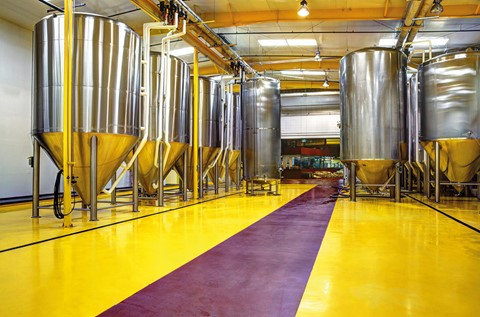 Flowcrete's Flooring Shimmers in the Sunshine State at Florida Beer Company