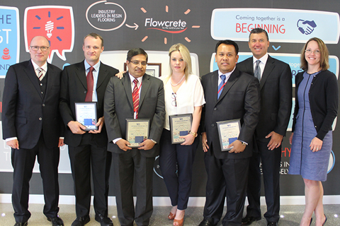 2015 | RPM President Awards Flowcrete's High-Fliers for Collaborative Value Creation